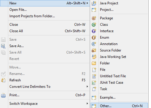 Java Hello World Example using Eclipse IDE