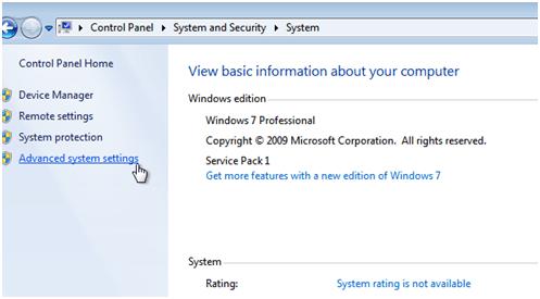 Python installation in Windows Windows Control