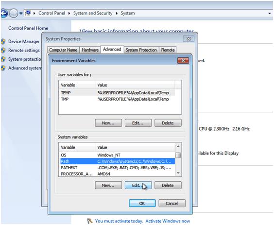 Python installation in Windows Env Variable