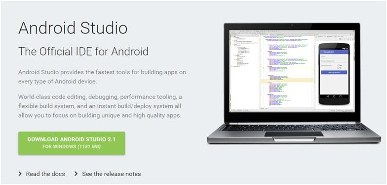 Installing Android Studio On Windows