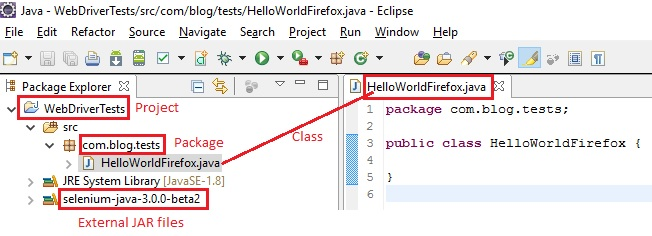 9c  WebDriver - First test script by launching Firefox